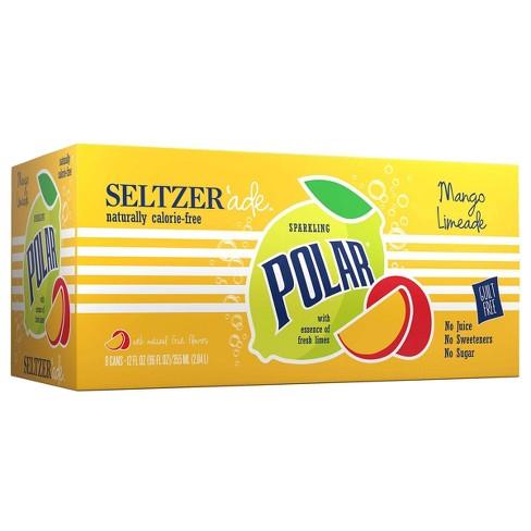 Polar Seltzerade Mango Lemonade - 8pk/12 fl oz Cans - image 1 of 3