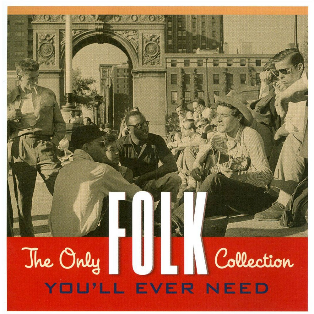 Various Artists The Only Folk Collection You Ll Ever Need 2 Cd