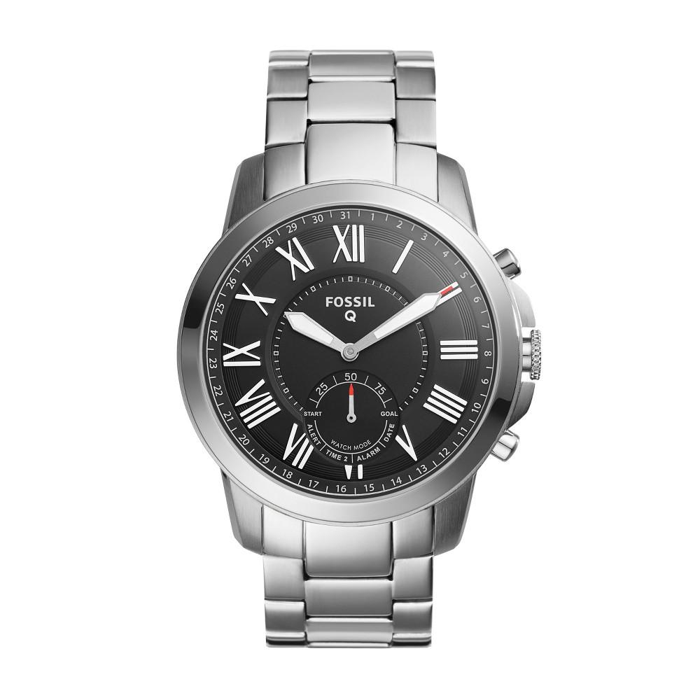 Fossil Hybrid Smartwatch - Q Grant 41mm Silver