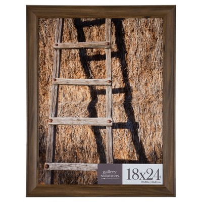 """18"""" x 24"""" Large Wall Frame Walnut - Gallery Perfect"""
