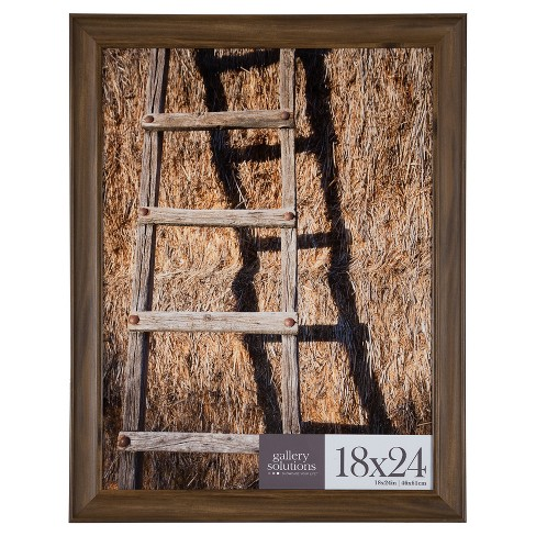 18x24 Walnut Large Wall Frame Gallery Perfect Target