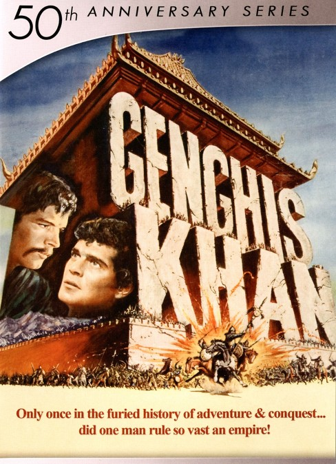 Genghis khan (50th anniversary series (DVD) - image 1 of 1