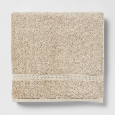 Soft Solid Bath Towel Sandalwood - Opalhouse™