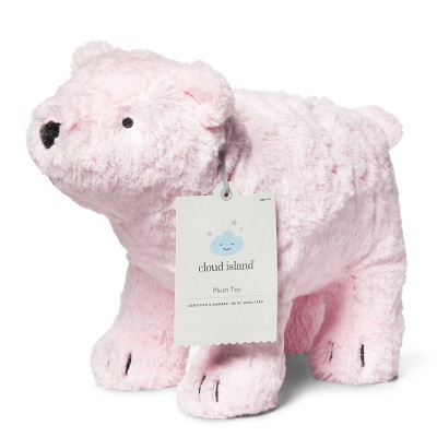 Plush Polar Bear - Cloud Island™ Pink