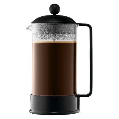 Bodum Brazil 8 Cup / 34oz French Press Coffee Maker - Black