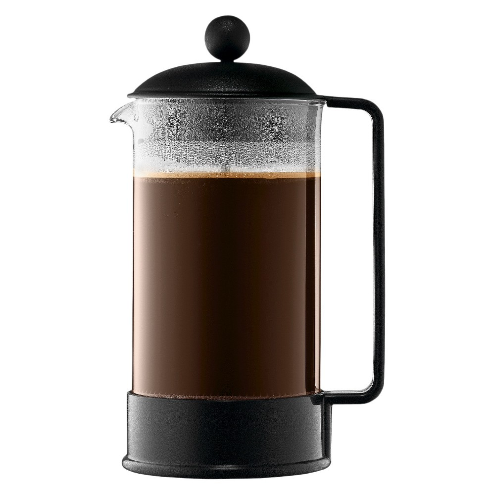 Bodum Brazil 8 Cup French Press Coffee Maker – Black 14695670