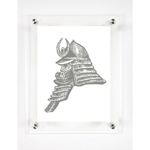Mitchell Black - Samurai Decorative Framed Wall Canvas - image 1 of 1