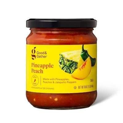 Mild Pineapple Peach Salsa 16oz - Good & Gather™