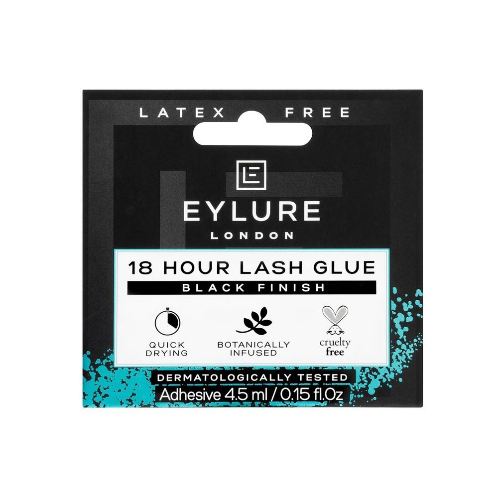 Image of Eylure 18 Hour Latex Free Glue False Eyelashes Black - 0.15oz