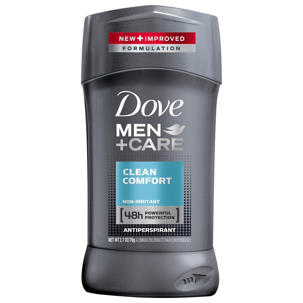Image of Dove Men+Care Clean Comfort 48-Hour Antiperspirant & Deodorant Stick - 2.7oz