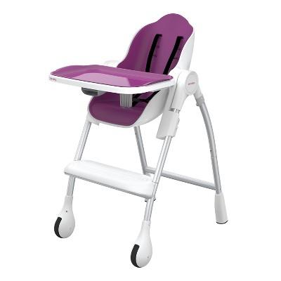 Oribel Cocoon High Chair - Plum