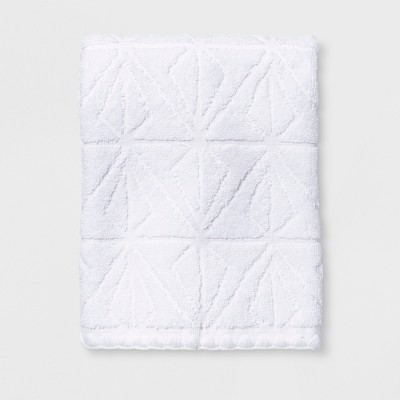 Sculpted Diamond Hand Towel White - Project 62™