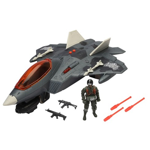 Hero Force Stealth Fighter Jet - image 1 of 4