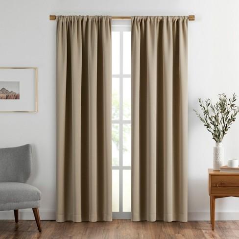 Vanderbilt Extra Wide Blackout Window Curtain Panel - SunVeil - image 1 of 4