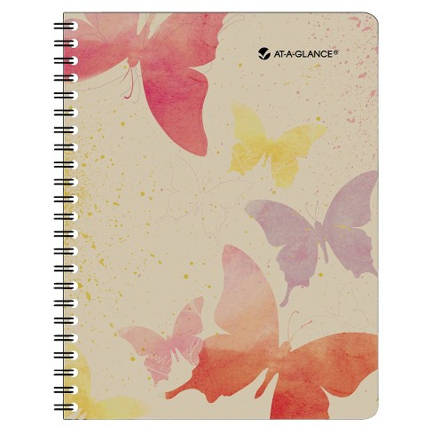 AT-A-GLANCE® Watercolors Weekly/Monthly Planner 8 1/2 x 11 Watercolors 2018-2019 - image 1 of 1