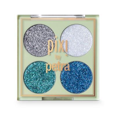 Pixi by Petra Glitter-y Eye Quad Blue Pearl - 0.14oz