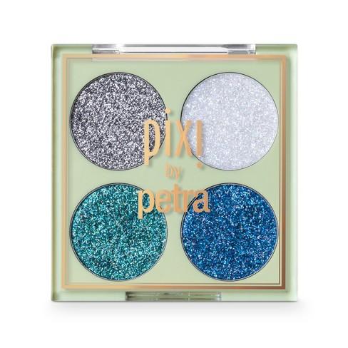 Pixi by Petra Glitter-y Eye Quad Blue Pearl - 0.14oz - image 1 of 4