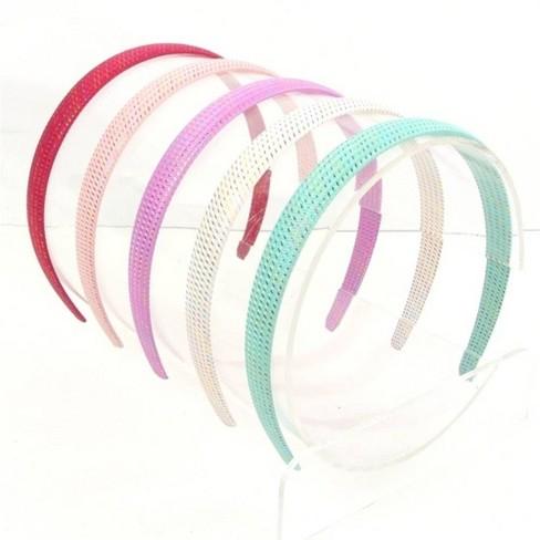 Girls' 5pk Woven Rainbow Tinsel Headbands - Cat & Jack™ - image 1 of 1
