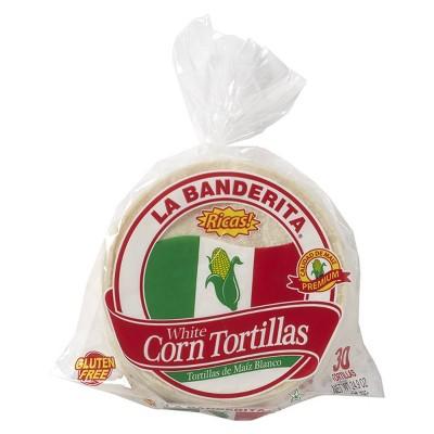 La Banderita Gluten Free Corn Tortillas - 27.87oz/30ct