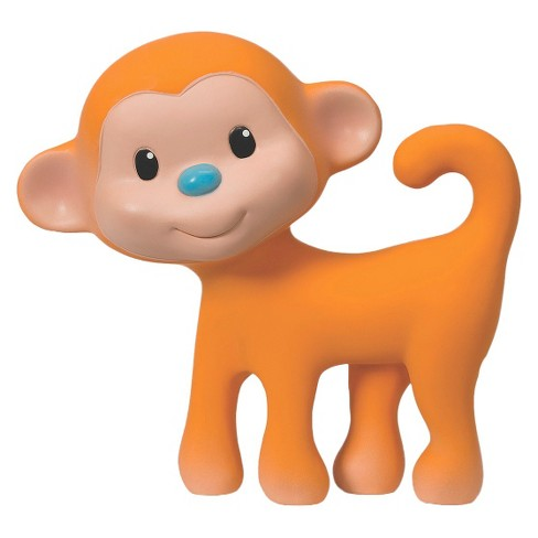 Infantino Go GaGa Squeeze and Teethe Toy - Monkey - image 1 of 3