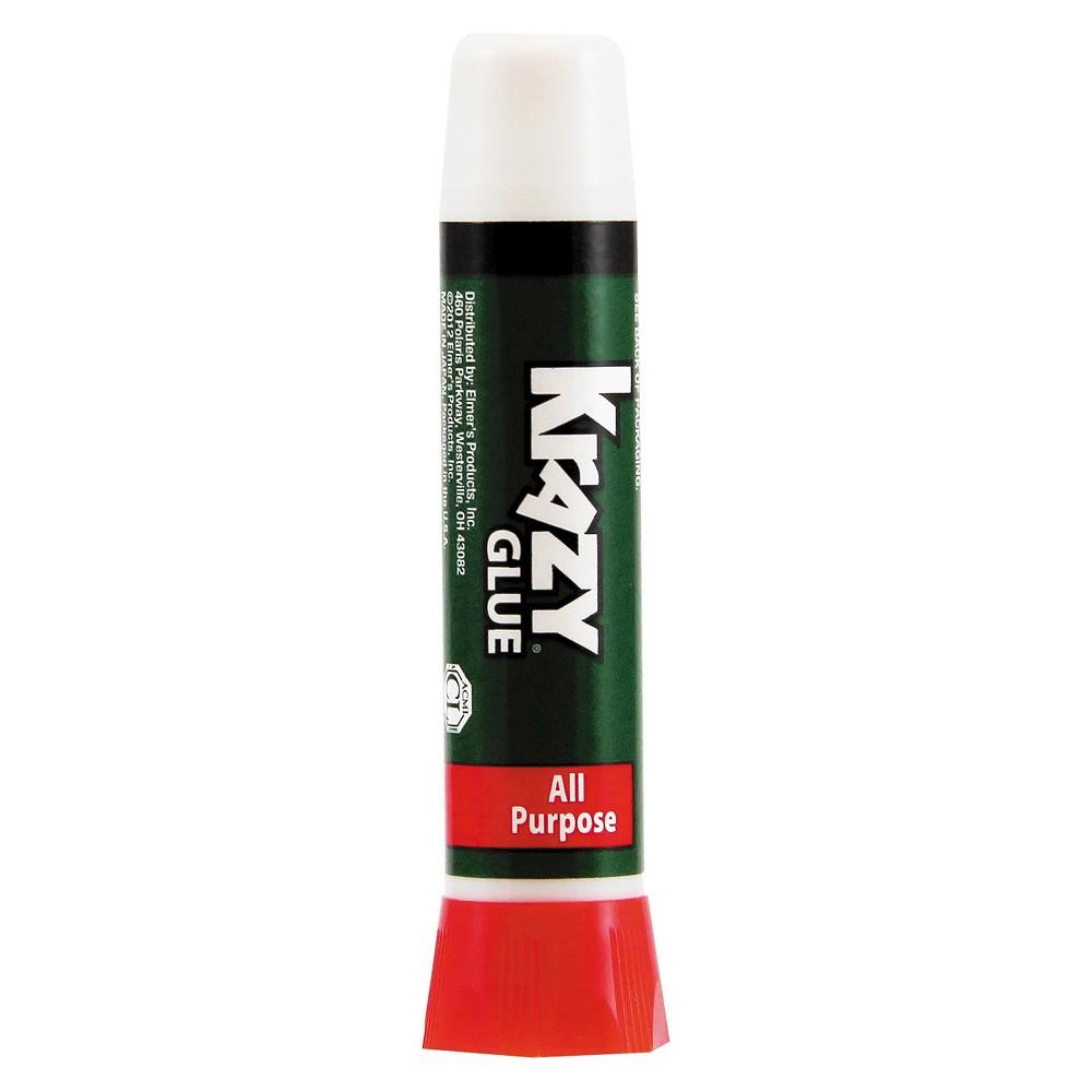 Krazy Glue All-Purpose Liquid Formula, Precision-Tip Applicator, .07oz, Clear