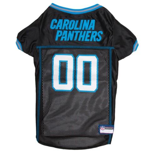buy popular 1afa8 ae85a NFL Pets First Mesh Pet Football Jersey - Carolina Panthers