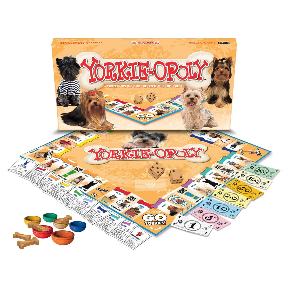 Late for the Sky Yorkie opoly Game, Board Games