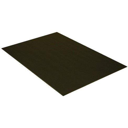 Pacon Acid-Free Foam Board, 20 x 30 Inches, 3/16 Inch Thickness, Black, pk of 10 - image 1 of 1