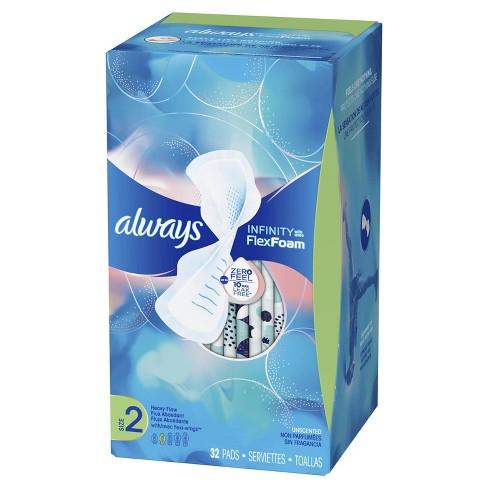 Always Infinity Pads with Avec Flex Foam - image 1 of 4
