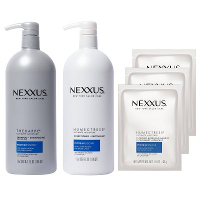 Nexxus Therappe Ultimate Moisture Shampoo + Humectress Conditioner + 3 Humectress Masque - 3 ct/33.8 fl oz
