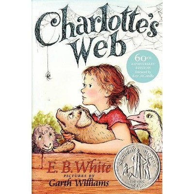 Charlotte's Web - (Trophy Newbery)by  Kate DiCamillo (Paperback)