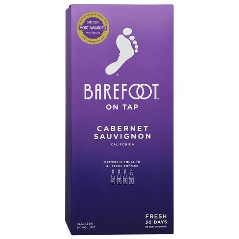 Barefoot Cabernet Sauvignon Red Wine - 3L Box - image 1 of 4
