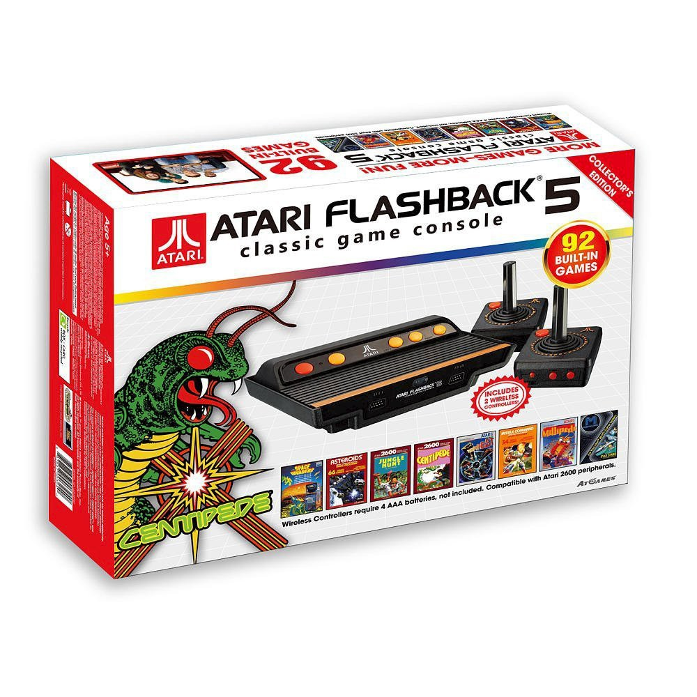 Atari Flashback 6 - Classic Game Console Atari Flashback 6 - Classic Game Console Color: Black. Gender: unisex.