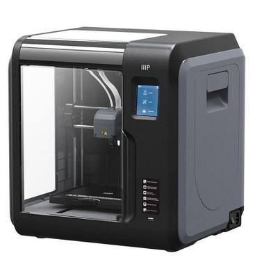 Monoprice Voxel 3D Printer - Gray/Black with Removable Heated Build Plate (150 x 150 x 150mm) Fully Enclosed, Touch Screen, Assisted Level, Easy Wi-Fi