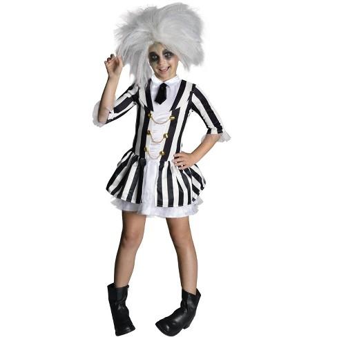Beetlejuice Girl Child Costume - image 1 of 1