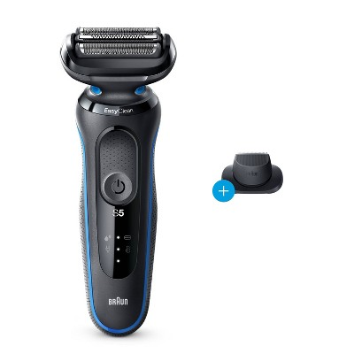 Braun Series 5-5018s Men's Rechargeable Wet & Dry Electric Foil Shaver