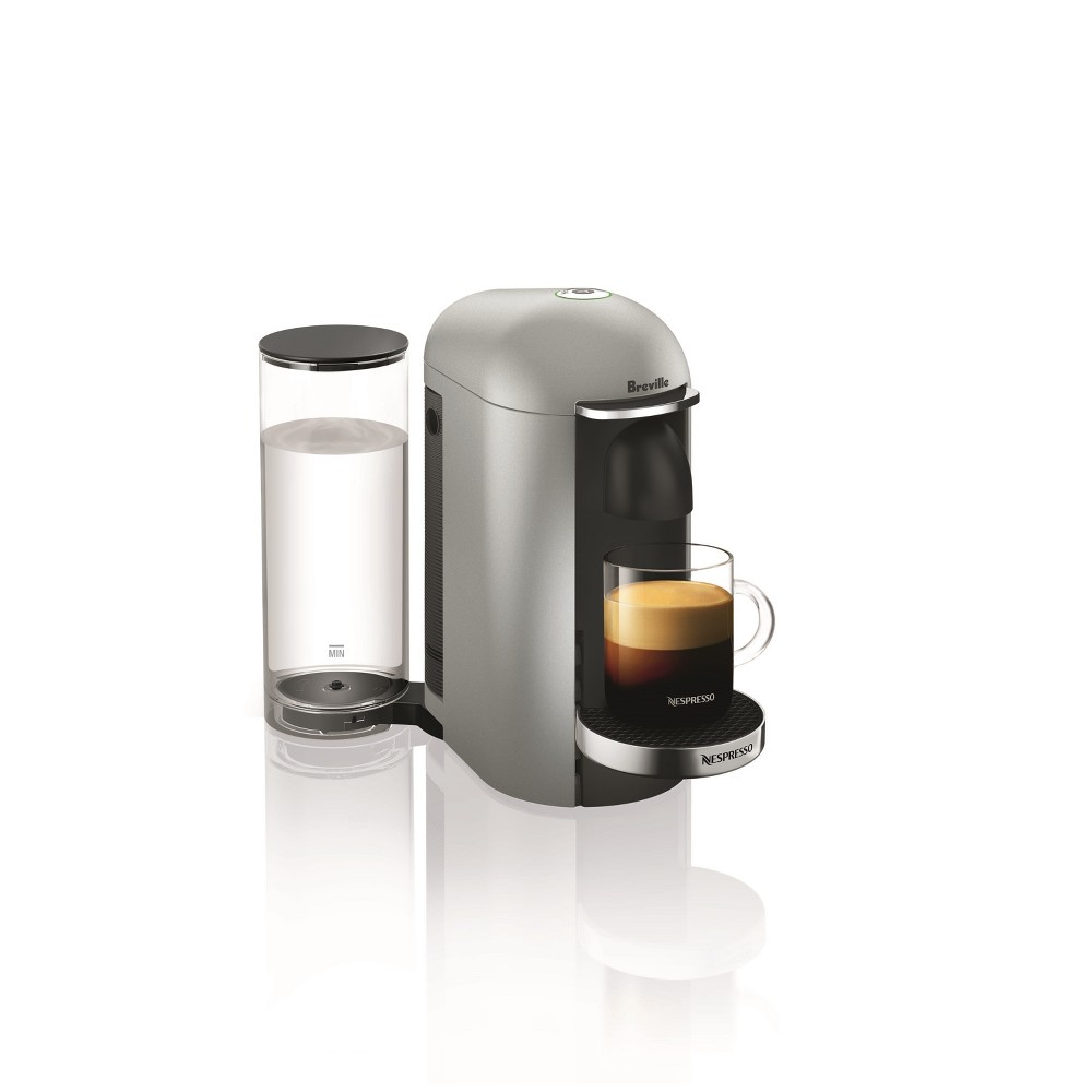 Nespresso VertuoPlus Silver Deluxe by Breville, Light Silver 53029972