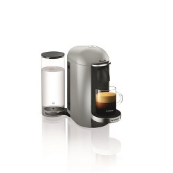 Nespresso VertuoPlus Silver Deluxe by Breville