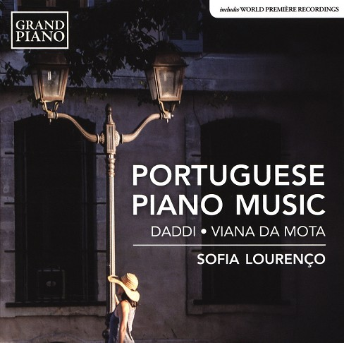 Sofia lourenco - Portuguese piano music (CD) - image 1 of 1