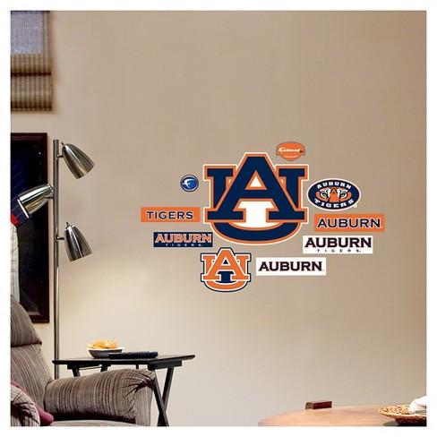 Decorative Wall Art Set Fathead 40 X 3 X 3 Auburn Tigers : Target