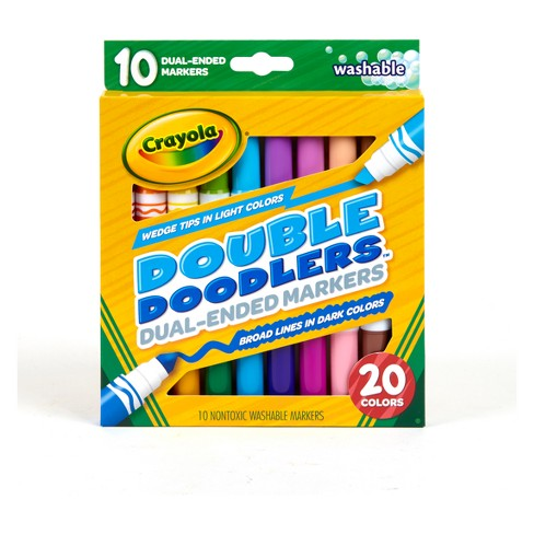 Crayola 10ct Washable Markers Dual-tip - image 1 of 6