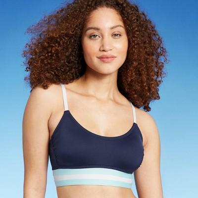 Women's Colorblock Banded Bralette Bikini Top - Kona Sol™