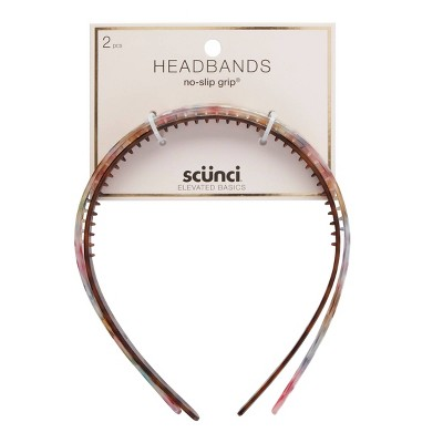 scunci Headband - Tort - 2pk