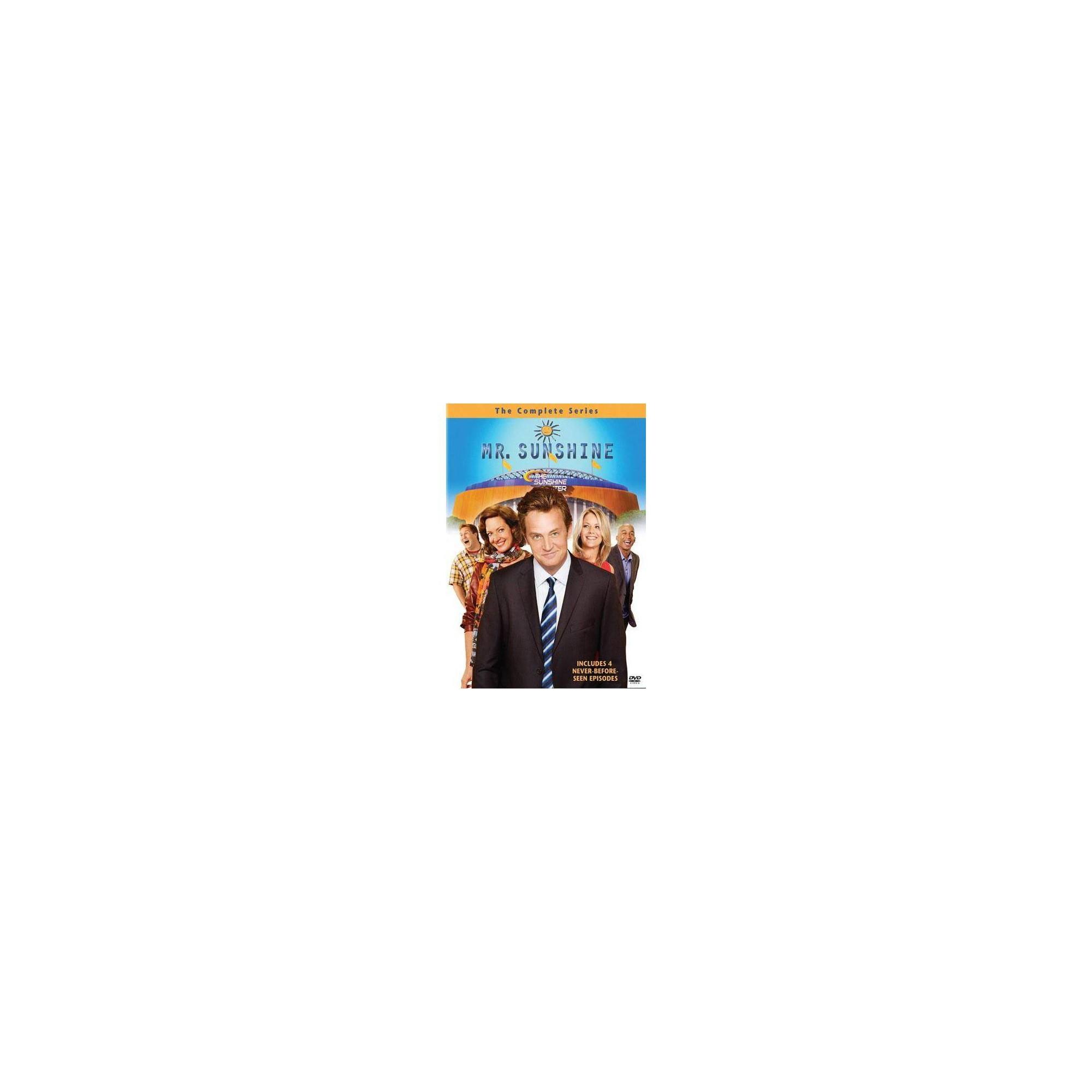 Best Mr Sunshine The Complete Series Dvd