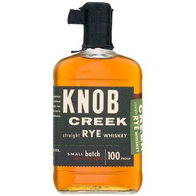 Knob Creek Straight Rye Whiskey - 750ml Bottle