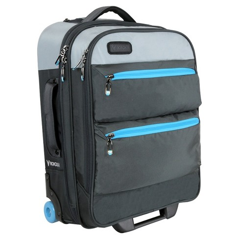 "BONDKA 22"" Rolling Carry On Suitcase - Gray - image 1 of 5"