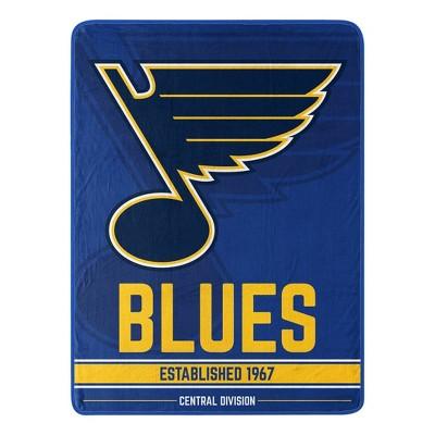 NHL St. Louis Blues Micro Throw Blanket