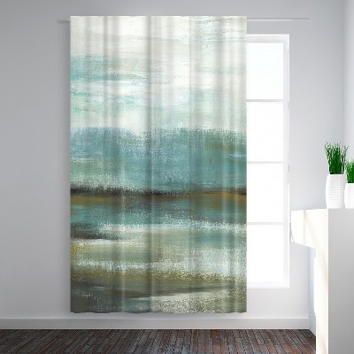 Americanflat Sprawl I by PI Creative Art Blackout Rod Pocket Single Curtain Panel 50x84