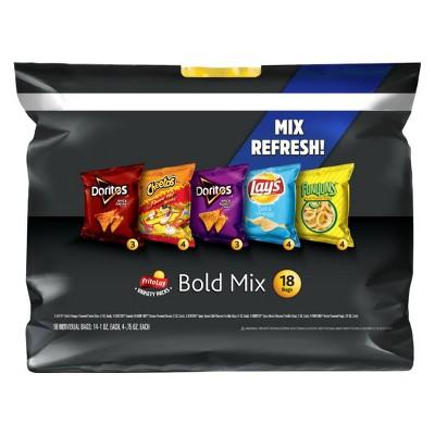 Frito-Lay Variety Pack Bold Mix - 18ct