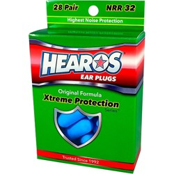 Hearos Xtreme Protection Series Ear Plugs 28 Pair